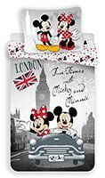 detske-obliecky-mickey-and-minnie-in-london