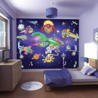 FOTOTAPETA 3D ALIEN ADVENTURE WALLTASTIC