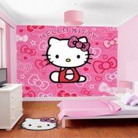 FOTOTAPETA 3D HELLO KITTY WALLTASTIC®