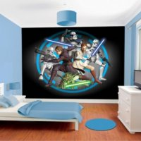 FOTOTAPETA 3D STAR WARS - WALLTASTIC®