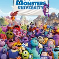PLAGÁT NA STENU MONSTER UNIVERSITY FP2999