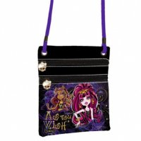 MONSTER HIGH ZIP - TAŠKA CEZ RAMENO cross body (2488)