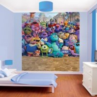 FOTOTAPETA 3D MONSTERS UNIVERSITY WALLTASTIC®