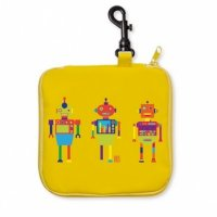 IRIS ´PINK YELLOW ROBOTS - TERMO SNACK BOX (1696)