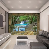WATERFALL - WALLTASTIC®  3D FOTOTAPETA The View Collection (3602)