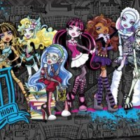 PLAGÁT NA STENU MONSTER HIGH FP2755