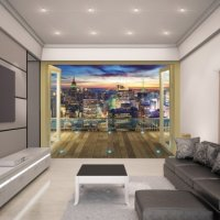 NEW YORK CITY - WALLTASTIC®  3D FOTOTAPETA The View Collection (3558)