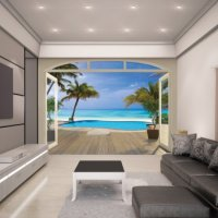 PARADISE BEACH - WALLTASTIC®  3D FOTOTAPETA The View Collection (3565)