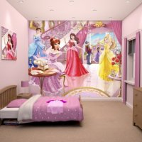 FAIRY PRINCESS - WALLTASTIC®  3D FOTOTAPETA (3183)
