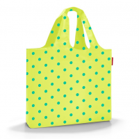 Skladacia Taška Mini Maxi Beachbag lemon dots, Reisenthel