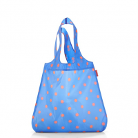 Skladacia taška Mini Maxi Shopper azure dots, Reisenthel