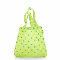 Skladacia taška Mini Maxi Shopper lemon dots, Reisenthel