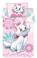 Obliečky do postieľky Marie cat flowers baby Disney