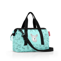Cestovná taška Allrounder XS kids cats and dogs mint, Reisenthel