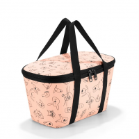 Termotaška Coolerbag XS kids cats and dogs rose, Reisenthel