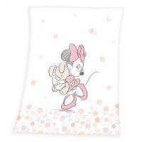 HERDING Baby supersoft deka 75/100cm MINNIE MOUSE