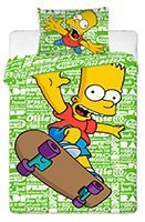 detske-obliecky-simpsons-bart-green